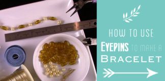 How to Use Eyepins to Make a Bracelet
