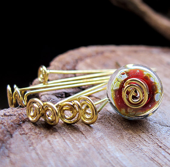 Rose Headpins