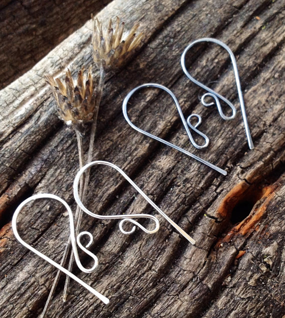 Swirl French Hook Ear Wires