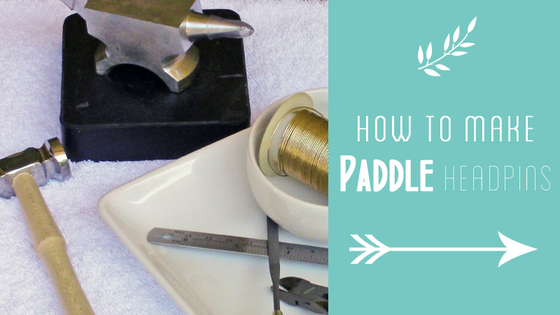 How to Make Paddle Headpins