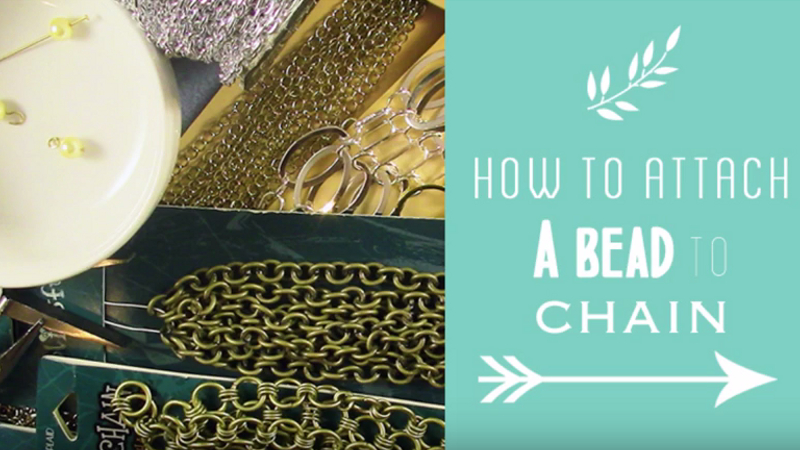 How to Attach a Bead to Chain