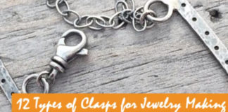 12 Types of Clasps for Jewelry Making