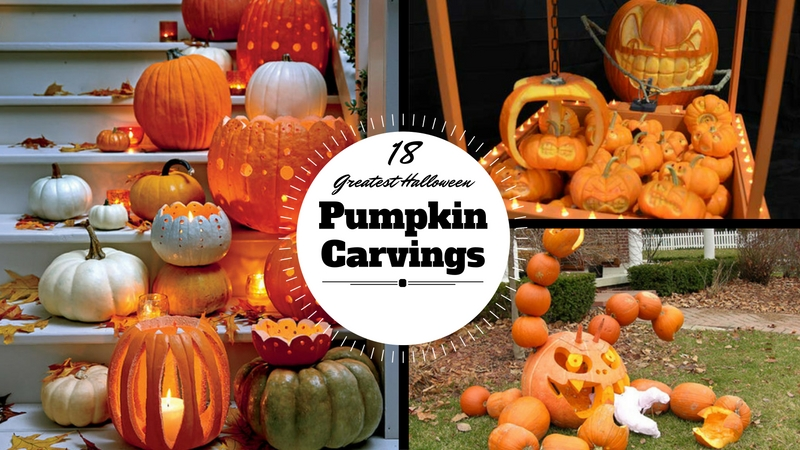 18 Greatest Halloween Pumpkin Carvings