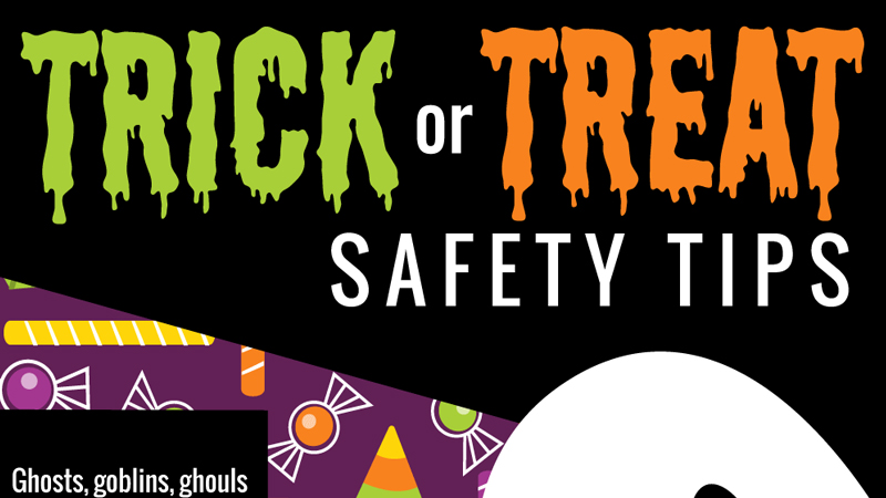 20 Halloween Safety Tips for Trick or Treaters [Infographic]