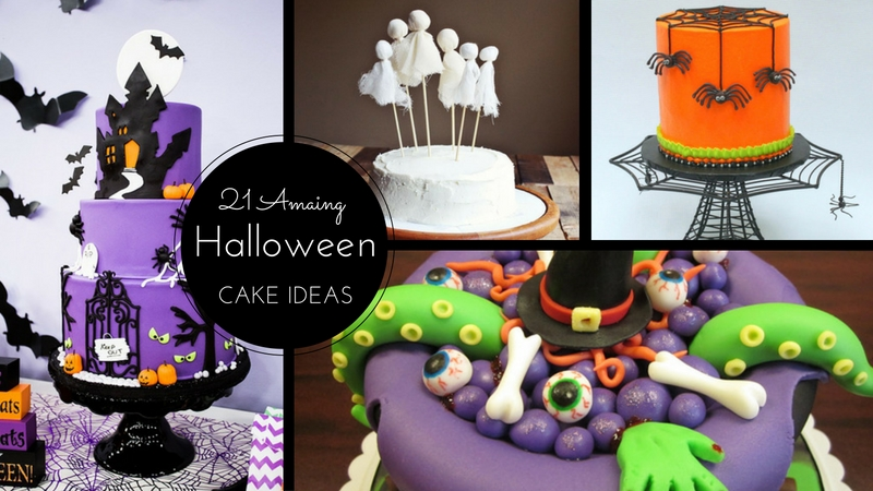 21 Amazing Halloween Cake Ideas