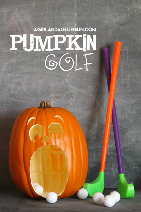 pumpkin-golf
