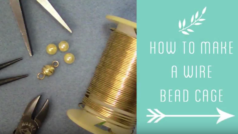 How to Make a Wire Bead Cage