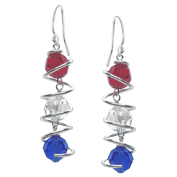 Bead-Linked-Cage-Wire-Wrapped-Earrings