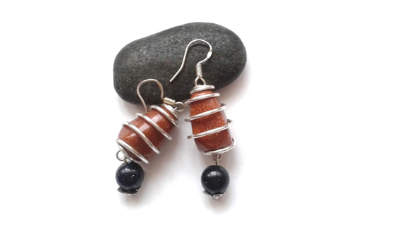 Goldstone-Wire-Wrapped-Bead-Cage