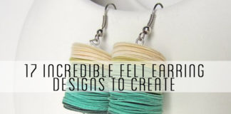 17-Incredible-Felt-Earring-Designs-to-Create