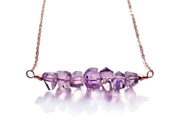 Amethyst-Bar-Necklace