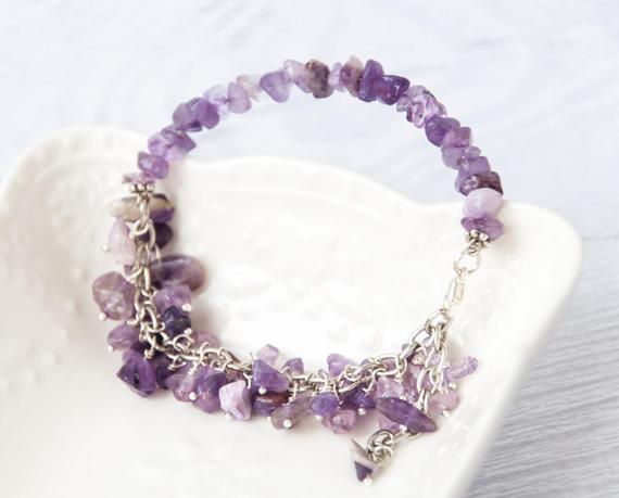 Amethyst-Chip-Beaded-Bracelet