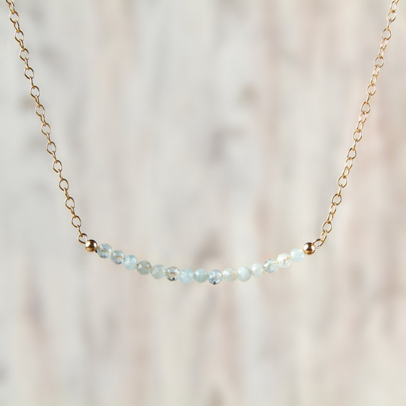 Aquamarine-Beaded-Bar-Birthstone-Necklace