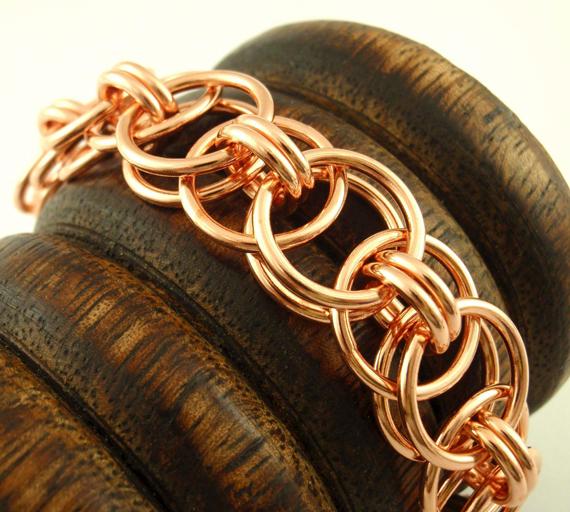 Copper-Linked-Jump-Ring-Bracelet