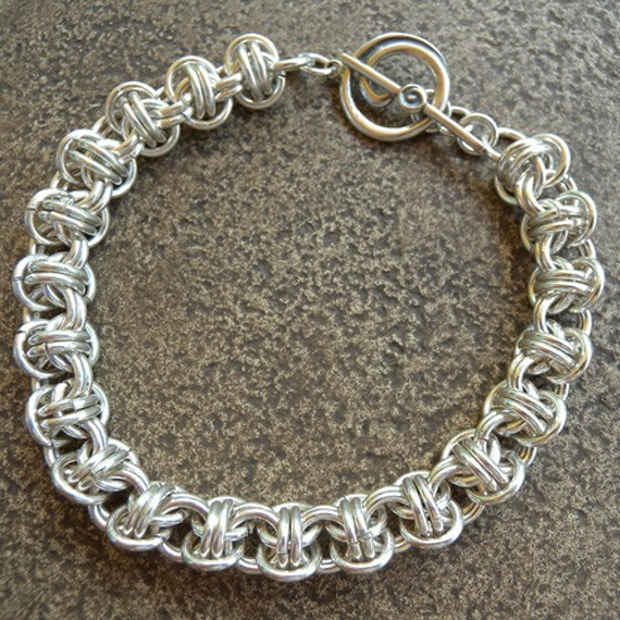 Jump-Ring-Weave-Linked-Chain