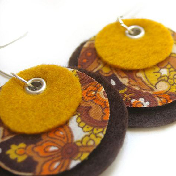 Modern-Circle-Felt-Earrings