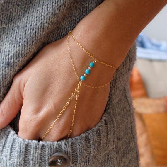 Round-Beaded-Chain-Slave-Bracelet