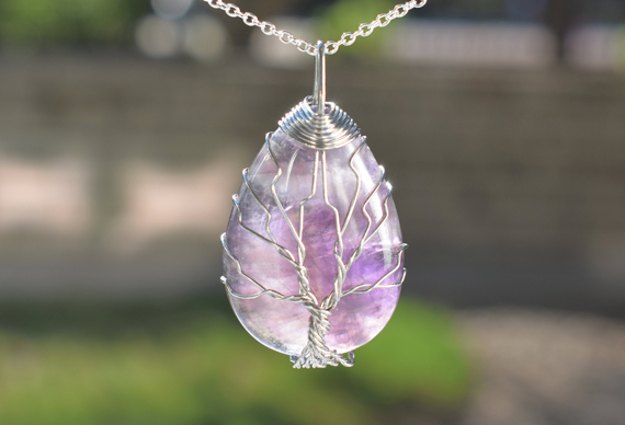 Wire-Wrapped-Amethyst-Pendant