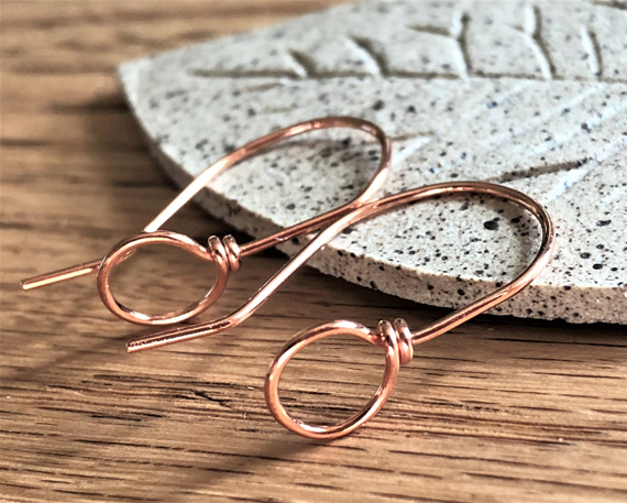 Copper-Ear-Wires