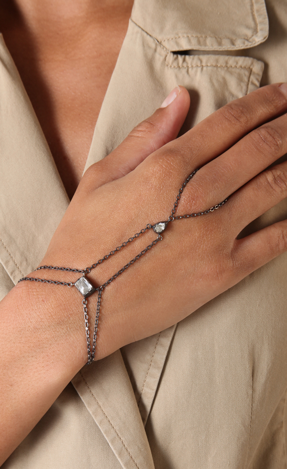Double-Layer-Hand-Chain-Bracelet