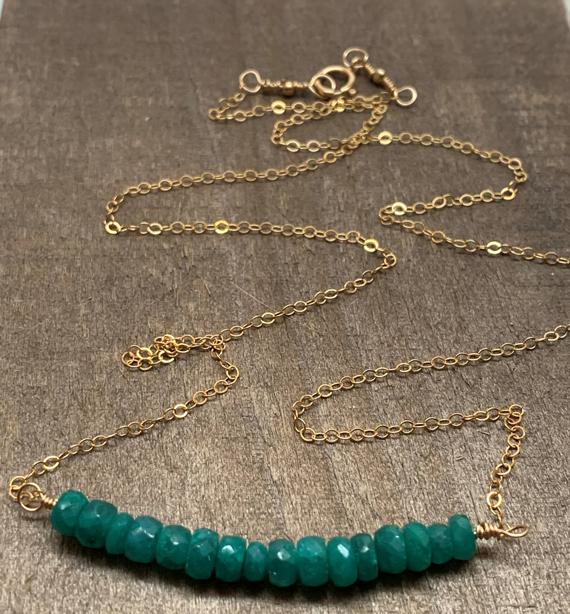 Emerald-Bar-May-Birthstone-Necklace