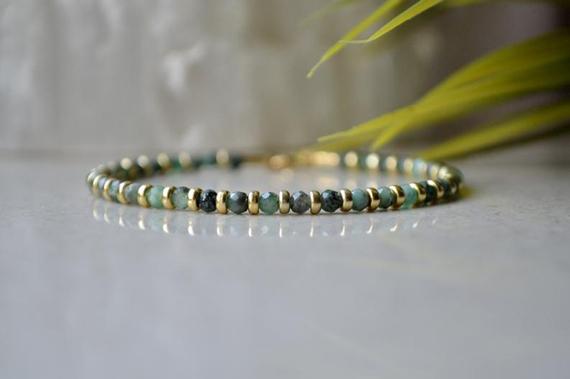 Emerald-Birthstone-and-Gold-Vermeil-Bracelet