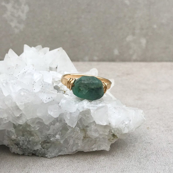 Emerald-Gemstone-Ring