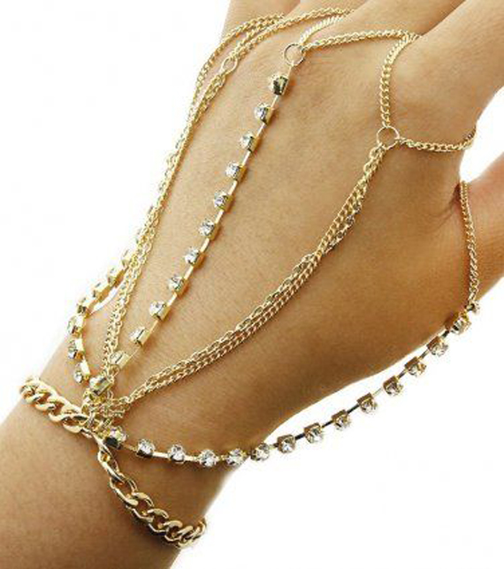 Jeweled-Hand-Chain-Bracelet