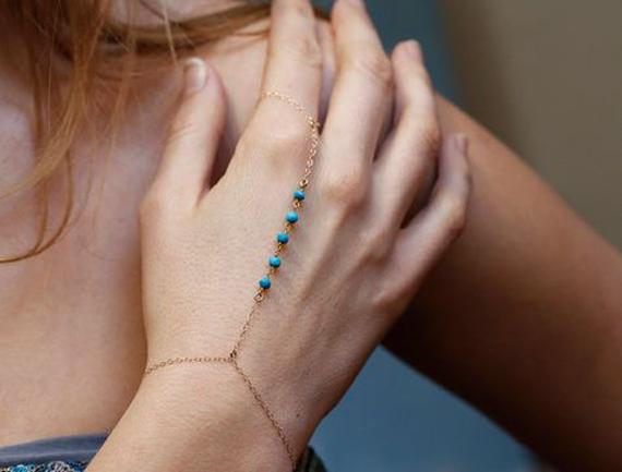 Round-Beaded-Hand-Chain-Bracelet