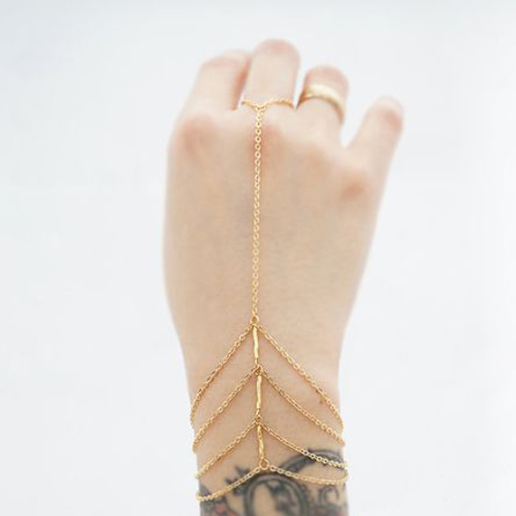 Triple-Bar-Hand-Chain-Bracelet