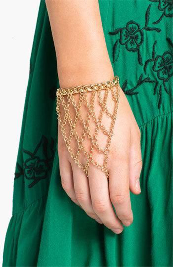 Wrist-Glove-Hand-Chain-Bracelet