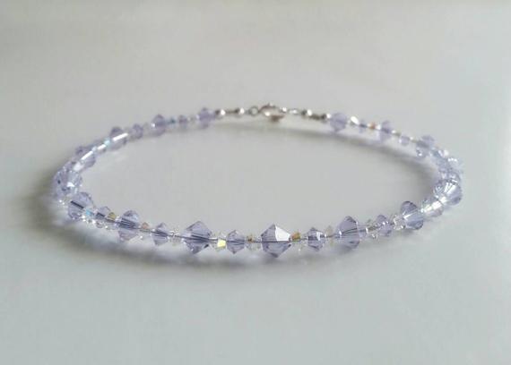 Alexandrite-Bicone-Birthstone-Bracelet