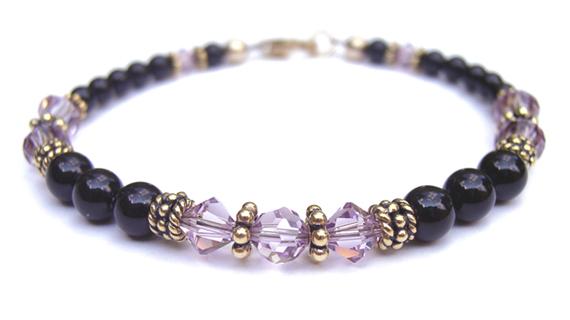 Alexandrite-Birthstone-Beaded-Bracelet