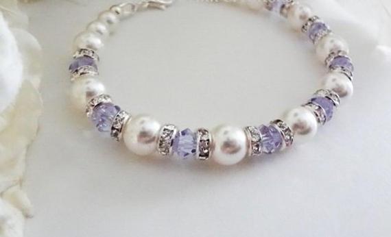 Alexandrite-Pearl-Birthstone-Bracelet