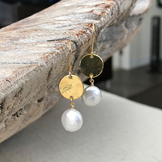 Coin-Pearl-Drop-Earrings