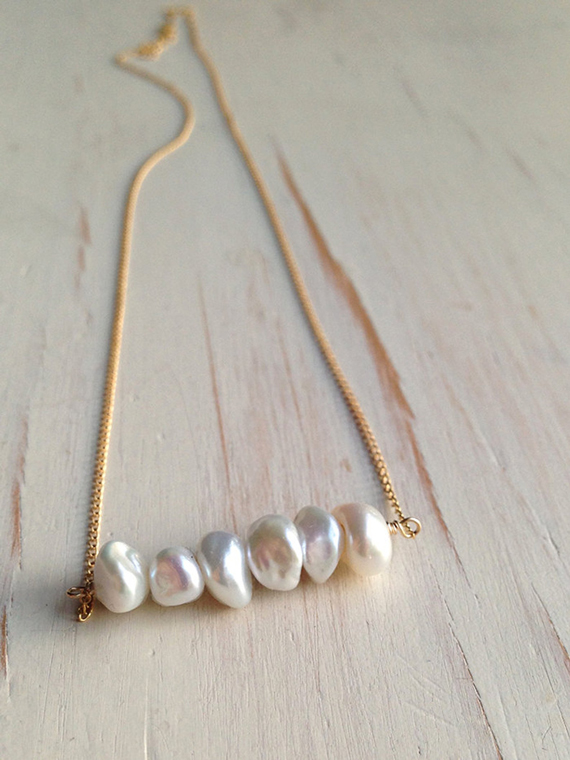 Pearl-Bar-Birthstone-Necklace