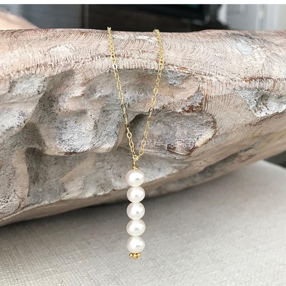 Pearl-Birthstone-Stacked-Necklace