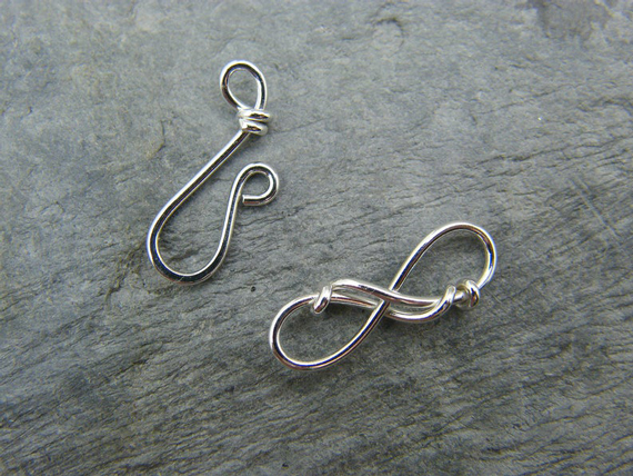 Silver-Infinity-Wire-Wrapped-Clasp