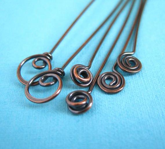 Spiral-Knot-Headpins