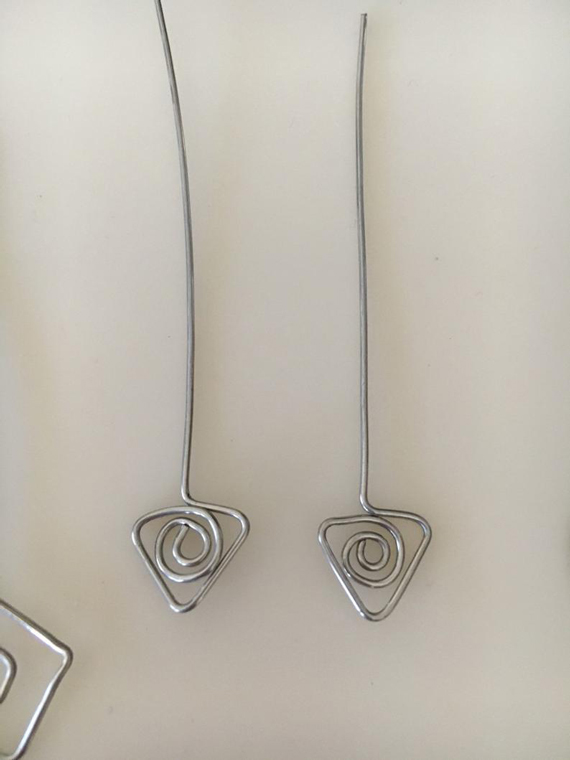 Triangle-Swirl-Headpins