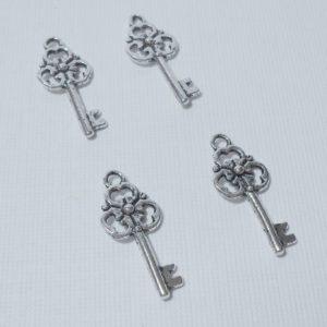 4pc Mini Skeleton Charms