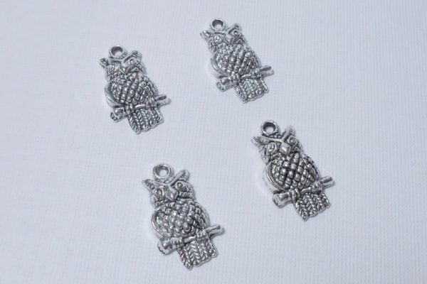 4pc Owl Charms