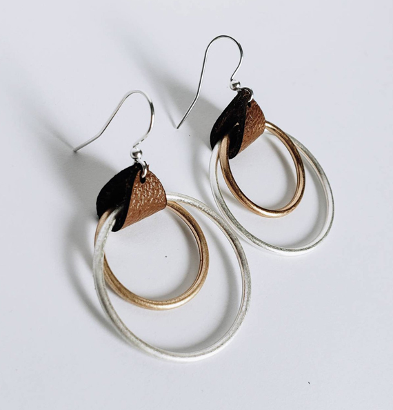 Leather-Wrapped-Mixed-Metal-Earrings