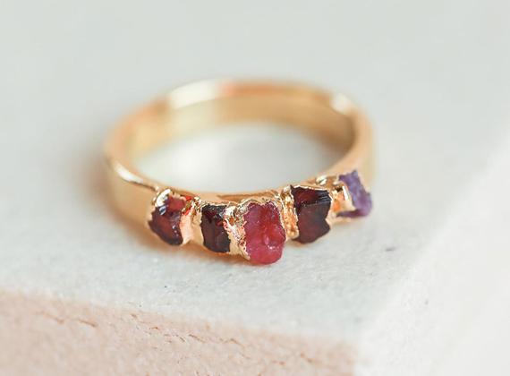 Raw-Ruby-Birthstone-Ring