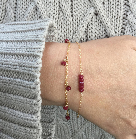 Ruby-Bar-Bracelet-with-Gold-Chain