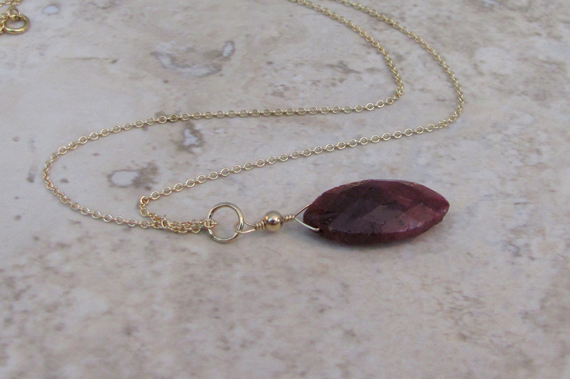 Ruby-Pendant-Birthstone-Necklace