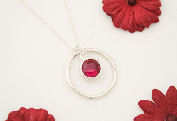 Ruby-Silver-Ring-Birthstone-Necklace