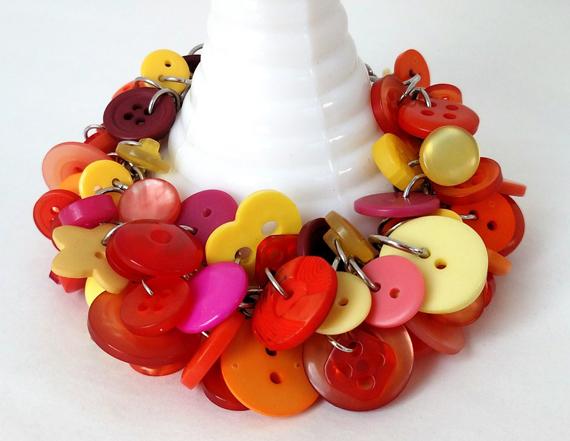 Buttons-Chunky-Bracelet