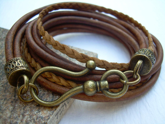 Leather-Wrapped-Chunky-Bracelet