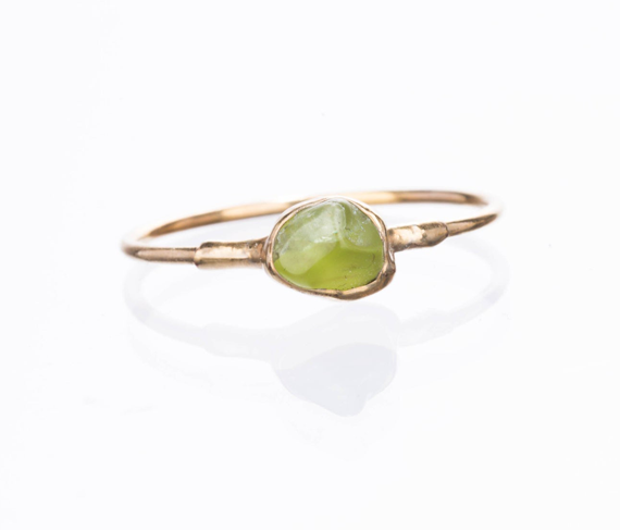 Gold-Peridot-Birthstone-Ring
